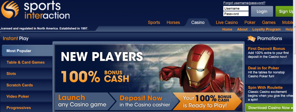 sports-interaction-casino-games
